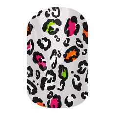Cheetah-liscious  nail wraps by Jamberry Nails
