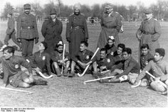 Bordeaux, hockey game, Wehrmacht.