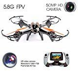 Drone , Drone with HD Camera , Drone Master 5 MP REALTIME WIFI CAMERA U818S 6-Axis RC Quadcopter Drone with FPV WIFI-818 Real-Time monitor and 5.0 MP HD Camera
