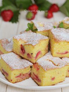 Desert de Casa va prezinta o varietate de retete culinare pentru deserturi si dulciuri de casa pe care le puteti gati usor si rapid. Romanian Desserts, Romanian Food, No Cook Desserts, Just Desserts, Delicious Deserts, Yummy Food, Cookie Recipes, Dessert Recipes, Sweet Tarts