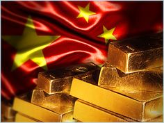 Gold rises as dollar drops; Chinese data provides boost