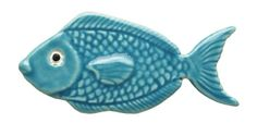 Ceramic Light Blue Fish Mosaic http://www.mosaic.pro/ceramic-light-blue-fish.aspx