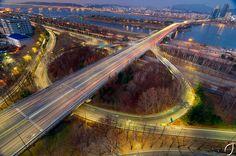 Yanghwa Bridge, Seoul, South Korea