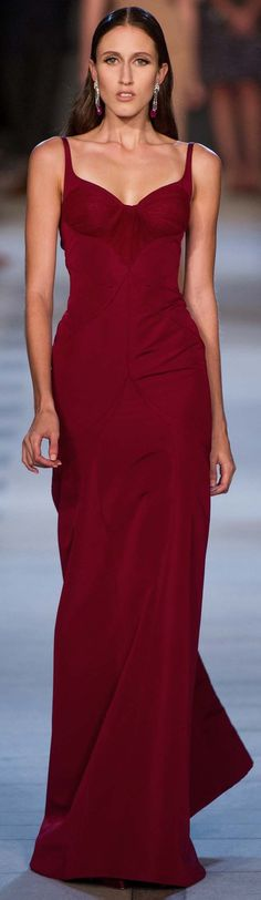 Zac Posen Spring Summer 2013 Ready to Wear Evening Gown Collection