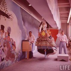 Peter Pan's flight original attraction