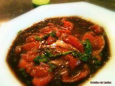 Cozinha+em+Laudas:+Ceviche+de+salmão+no+shoyu+[Salmon+ceviche+in+shoy...