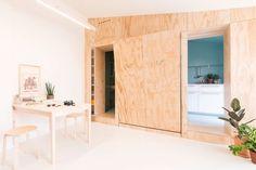 Compacte studio waarbij de ruimte optimaal wordt gebruikt - Roomed