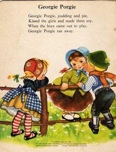 An Old English Nursery Rhyme Costume Rhymes