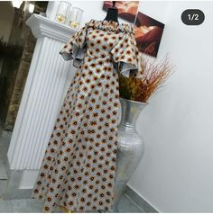 Long African Dresses, Latest African Fashion Dresses, African Print Fashion, Ankara Gown Styles, Ankara Gowns, Straight Dress, Christian Clothing, African Design, Low Heels