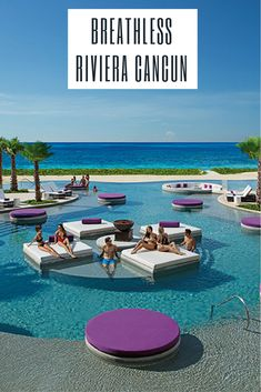 Stylish and exhilarating. Breathless Riviera Cancun, located just 15 minutes from Cancun International Airport and nestled between the jungle and Caribbean Ocean, is just that.