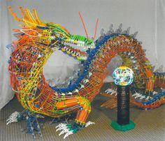 K'NEX Dragon. www.knex.com