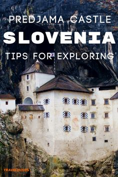 Tips for visiting Predjama Castle in Slovenia, a must see when planning your travel itinerary for Eastern Europe!   Blog by Travel Dudes: Community for Travelers, by Travelers!