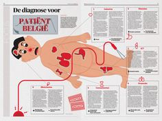 Graphic/illustration: Brecht VanzieleghemArt Direction: Arne Depuydt/Freek De Groote© DeMorgen