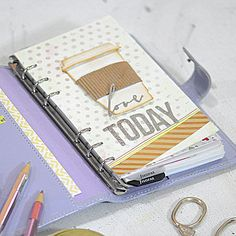Sizzix Tutorial   Love Today Planner Dashboard by Genevive Rulona