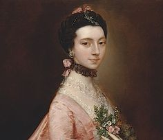 ca. 1763 Mary Little by Thomas Gainsborough