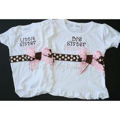 Big sister/little sister shirts