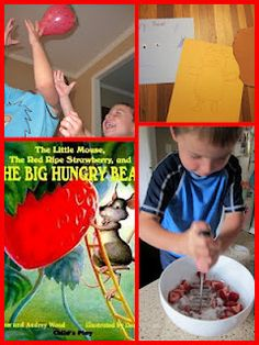 Cook, Draw, and Play with The Little Mouse, The Red Ripe Strawberry, and The Big Hungry Bear by Don and Audrey Wood