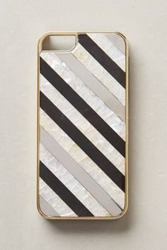 Nacre Striped iPhone 5 Case - anthropologie.com /