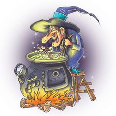 Witchy Concoctions Digi Stamp in Digital images