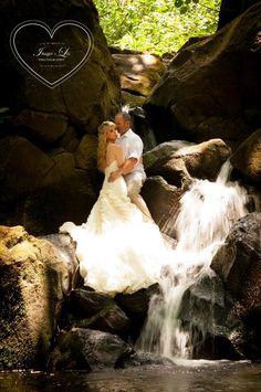 Wedding on the waterfall -  kauai Hawaii Interesting