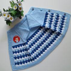 """1,935 Beğenme, 64 Yorum - Instagram'da """" BEBE👶LAND16 """" (@bebeland16): """"Mutlu huzurlu geçireceğiniz güzel bir hafta sonu olsun ❤ . . . . 💙 SİPARİŞ ALIYORUM 👈 . . . .…"""" Baby Knitting Patterns, Free Knitting, Baby Vest, Baby Cardigan, Diy Crafts Crochet, Knit Baby Sweaters, Crochet For Beginners, Teachers Pet, Girl Sleeves"""