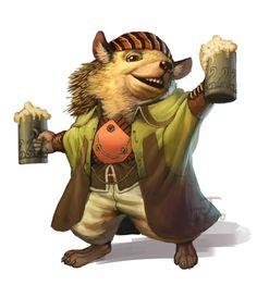 Redwall Races - hedgehog by chichapie.deviantart.com