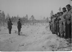 Christmas on the Finnish front during WW2 (1939-1944)