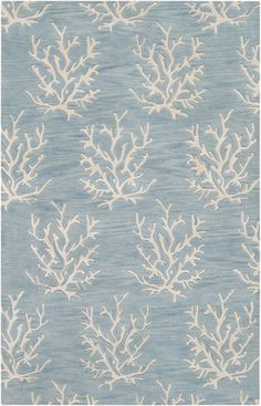 @rosenberryrooms is offering $20 OFF your purchase! Share the news and save!  Powder Blue Coral Reef Escape Rug II #rosenberryrooms