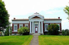 Carnegie Library, Hinckley, Maine