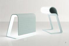 Designer objects: lighting design, table lamp, BINA BAITEL - Design Studio