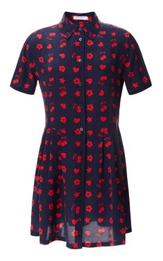 Fruit And Floral Cdc Naomi Dress by Equipment for Preorder on Moda Operandi