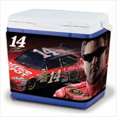 Tony Stewart 16-Quart Cooler Coozie by NASCAR. $19.99. Is your cooler looking a little drab? Spice it up with this Cooler Coozies® NASCAR® 16-qt cover. It features a stretchable neoprene construction and is boldly decorated with colorful sublimated graphics.. Save 20%!