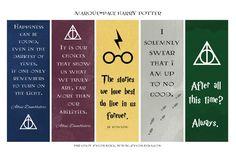 Les marque-pages Harry Potter & la version illustrée du tome 1