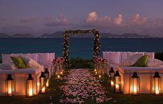 Ocean wedding.
