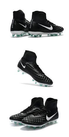 best cheap 6844b ca71a Crampons Football Nouvel Nike Magista Obra 2 FG Noir Blanc