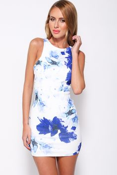 Garden Goddess Dress, Blue, $59 + Free express shipping http://www.hellomollyfashion.com/garden-goddess-dress-blue.html