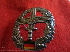 BW Barettabzeichen, Heeresflieger, Metall / mehr Infos auf: www.Guntia-Militaria-Shop.de