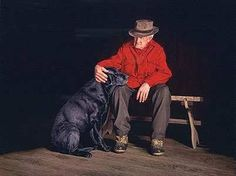Dogs truly are man's best friend...