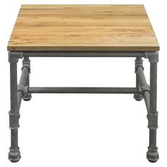 Arden Side Table - Rustic Industrial on Joss & Main