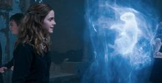 """Hermione was the first of the students, other than Harry, to conjure a Patronus. If Hermione Were The Main Character In """"Harry Potter"""" Harry Potter Quiz, Harry James Potter, Harry Potter Hermione, Harry Potter Movies, Ron Weasley, Hermione Granger, Severus Snape, Draco Malfoy, Harry Potter Film"""