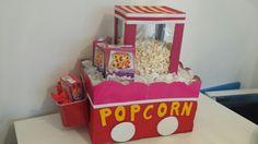 Popcorn machine knutselen