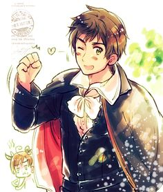 Hetalia 30 day challenge. Day 16. Character you'd want to prance naked for you. Obviously I would want Spain to! I'm pretty sure this answer is obvious, because who doesn't want Spain to prance naked!?