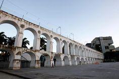 Arcos da Lapa, uma das maravilhas do Rio de Janeiro!