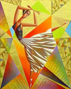 Georgy Kurasov (Russian, b. 1958) - Classical Dance
