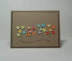 Flower Cards to Make   Flowers card
