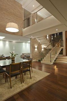 Iluminación, pared y altura - Residencia DF by Pupo Gaspar Arquitetura
