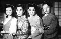 1950 『細雪』高峰秀子、山根寿子、轟夕起子、花井蘭子
