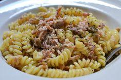 Winning Pasta with Garlic, Lemon, Capers and Tuna