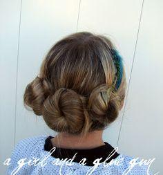 A girl and a glue gun: the three twists...