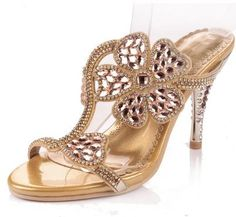 (49.26$)  Know more - http://aipbt.worlditems.win/all/product.php?id=32559837309 - Leather Women Sandals Heels Summer Women Shoes Diamond Flower Sandals Open Toe High Heels Slipper Sapato Feminino